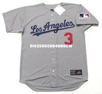Willie Davis Los Angeles Dodgers 1969 Majestic Cooperstown Lontano baseball Jersey