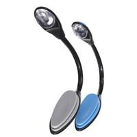 Wholesale Led Clip Booklight - High Quality Mini Flexible Clip On Bright Booklight LED Travel Book Reading Lamp White Light