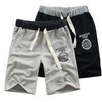 Wholesale Crossing Striped - Plus Size Adjustable Men's Boy Cotton Shorts Pants Gym Trousers Sport Jogging Trousers Casual M L XL XXL