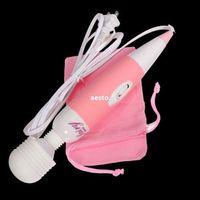 Wholesale Mini Female Wand - 110-220V Powerful Multispeed Fairy Mini Female Personal Wand Massager Massage #E593