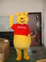 Wholesale Winnie Pooh Adult Clothes - Mascot Costume Winnie The Pooh Cartoon Clothing Adult Size Bear