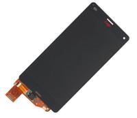 display z3 compact venda por atacado-A + display lcd touch screen para sony xperia z3 compacto z3 mini d5803 d5833 preto