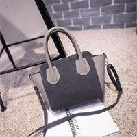 Wholesale Female Smell - Fashion Women Candy Colors Handbags Quality PU Leather Female Messenger Bags No Smell Smile Shoulder Crossbody Bags For Women