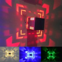 Wholesale Cheap Interior Lights - Modern Multicolor LED Interior Lighting High Power Aluminum Indoor Wall Mouted Lights Sconces for Decorations Cheap SJFH