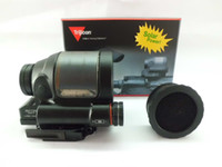 Wholesale Covers Rails - Holographic sight Trijicon SRS 1x38 Solar powered Red Dot Sight with anti-reflection cover fits any 20mm rail