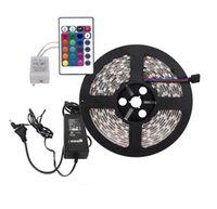 Wholesale Dream Strip Light - Cheap RGB LED Strips High Power SMD 3528 DC 12V Dream Color Led Lights Strips for Advertisement Home Decorations
