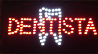 Wholesale neon sign window resale online - Special Offer Direct Selling Graphics mm Indoor quot x19 quot Dentist Window Display Led Neon Sign
