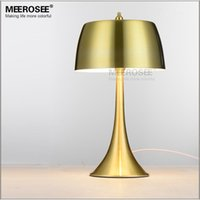 Wholesale Iron Table Lamp Vintage - Modern E27 bulb table desk lighting fixture lamp lustre lamparas for Home decoration Bedroom Hotel room fast shipping MT12156