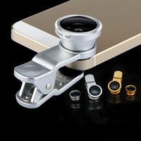 Handy Fish Eye Objektiv Handy Universal Objektiv Apple iPhone Samsung Hirse 4 S Universal Clip Weitwinkel Makro Fisheye Triple