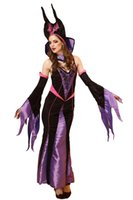 2016 Sexy Halloween Party Queen Costumes Stage Performance Dress Up Outfit Cosplay Gótico Witch Costumes Zombie Queen Night Club Dress