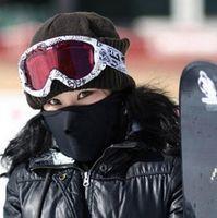 Wholesale Cheap Neoprene Masks - New Neoprene Snowboard Ski Cycling Face Mask Face Guard Neck warmer Outdoor sports face masks ski mask & online cheap