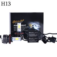 Wholesale H13 Hi Low - 80W 7200LM H13 Hi Low CREE LED Lamp Headlight Kit Car Beam Bulbs 12V Upgrade 6000k 2016 New Hot Sale Nice Quality High Power Popular