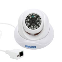 Wholesale Wired Outdoor Dome Ip Camera - Escam Snail QD500 Mini Camera HD720P Waterproof P2P Cloud IP IR Dome Max. IR LEDs Length 10m IP Camera