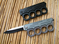 Wholesale Out Gear - cold steel B088 knuckle knives,Flip out Knuckle Style Action Assist Knife with Glass Breaker, Brass knuckle knife,Knuckle dusters