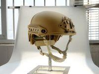 Wholesale Tactical Helmet Tan - Tactical Bulletproof FAST Airsoft paintball Air Frame Helmet   AF Tactical Helmet (Tan) Enhanced version Free shipping