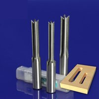 Wholesale 8mm Drill Bit - 3pcs set 8mm 10mm 12mm tenon drill bit tenon router bit 4 Flute with 12.7mm shank free shipping
