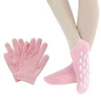 Wholesale Spa Gel Gloves Socks - 1 Pair of socks and 1 Pair of gloves CPAM SPA Gel Moisturizing Gloves and Socks For Hand and Feet Care
