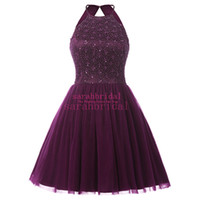Wholesale Girls Lilac Dresses - 2016 Homecoming Dresses for Summer 8th Grade Pageant Girls Back to School Sweet 16 Graduation Miss Teen USA Fashion Ball Prom Cocktail Gowns