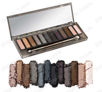Wholesale 1pcs Palette 12 Makeup - Smoky Palette 12 Colors Eyeshadow Palette 12 Makeup Eye Shadow 1Pcs