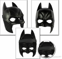 100pcs Real Airsoft Mask Darth Vader Algodão Halloween Costume Party Mask Cartoon Simulation Masculino Adultos Batman Black Plastic And Half Face