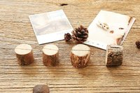 creative wood place card photo number name holder for vintage rustic baby shower wedding party table decoration za3688