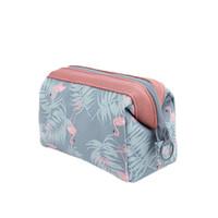 3d47959907c 2017 New Design Sacola de cosméticos portátil Travel Cosmetics Bag Trousse  de Maquillage Necessaire Women Waterproof Toiletry Kits