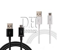 Wholesale Galaxy S4 Led - Micro USB Universal Charger Cable for Samsung Galaxy S4 Note 2 Sync Data Charging Adapter Lead Cord for HTC LG Cell Phones DHL