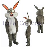 Wholesale Bugs Bunny Rabbit - fast free shipping POLE STAR MASCOT COSTUMES newest bugs bunny mascot costumes character rabbit costumes R0001