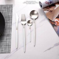 Wholesale Western Dinnerware Wholesale - Stainless steel Dinnerware Sets, four piece suit, Western Dinnerware, Knives Forks TeaSpoons, durable, Safety health, free shipping