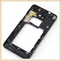 Wholesale Galaxy S2 Housing Bezel - Middle Housing For samsung Galaxy S2 i9100 Middle Frame Back Bezel Repair Replacement Parts