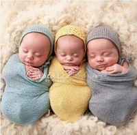 Wholesale Wholesale Cotton Gauze Blankets - 35*150cm Cotton Wraps for Baby Soft Wrap Newborn Baby Photography Props Wrap Blanket Wrap Gauze Fabric Infant Newborn Baby Wrap 02870