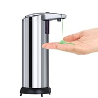 Wholesale Dispensers For Soap - Automatic Touchless Soap Dispenser 280ml Fingerprint Resistant Liquid Infrared IR Sensor Soap Dispenser for Bathroom or Kitchen with Waterpr