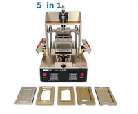 Wholesale Screen Glue Remover - 5in1 Universal LCD Screen Separator Glue Remover Frame Laminating Machine Middle Bezel Separator Molds 4 4S 5 5S 5C 6 6pius