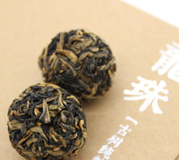 Wholesale Classic Dragon Pearl Tea Dried Organic Loose Leaf Balls Black Tea Dragon ball aroma Tea ball Flower