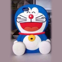 Wholesale iphone cases doraemon for sale - New Arrival Doraemon Cartoon case for iPhone s plus Silicon
