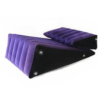 Wholesale Inflatable Sex Sofas - TOUGHAGE Adult Sex Furniture Sofa Set G Spot Sex Toys For Men Women Erotic Sofa Couples Inflatable Sex Wedge Love Sex Cushion