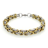 Wholesale Bicycle Link Bracelet - Classic Design Punk Jewelry Stainless Steel Bracelet Special Biker Bicycle Motorcycle Chain For Mens Bracelets Bangles Pulsera