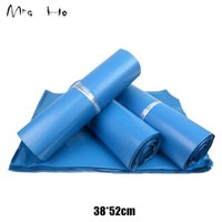 Wholesale Mailing Envelops - 38*52cm Blue Poly Mailer Bag Mailing Bags Express Bags Courier Plastic Mailing Envelop for Packing PP764