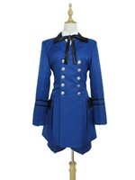 Wholesale Ciel Phantomhive Full Cosplay Black - Black Butler Ciel Phantomhive I Cosplay Costume Blue Suit