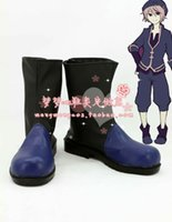 Wholesale Alice Shoes - Wholesale-Alice mare Alicemare Joshua Cosplay Boots shoes #MM122 Halloween shoes