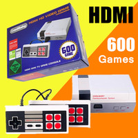 HD HDMI Out Retro Classic Game TV Video Handheld Console Sistema de entretenimento Built-in 600 Classic Games para NES Mini Game PALNTSC
