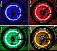 New Bike feux de roue LED Flash Light Wheel Tyr Valve Cap Lumière Vélo Moto Car Light Roue Pneu vélo LED Light Car