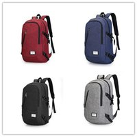 Wholesale Easy Golf - New style backpack College bag USB recharge field trip canvas bag Easy lifestyle multi-function charging contracted students travel camera b