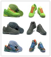 Wholesale Mens Road Cycling Shoes - Kobe 6 IV Mens Basketball Shoes Classic Limited Edition Retired What Road Master Weaving Knits Top Quality Trainers Sports shoes US7-12