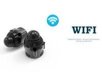 versteckte nachtsicht ip-kamera großhandel-2017 neue super kleine 1080 P HD IR Nachtsicht IP Wireless Pinhole Versteckte kugel kamera Sicherheit Überwachung Bewegung Actived Kamera