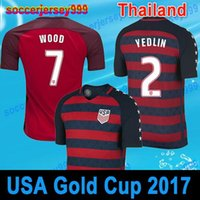 Soccer Jerseys fãs American National Team 2017 Gold Cup Estados Unidos 3rd Football camisas DEMPSEY DONOVAN BRADLEY PULISIC Thai quality