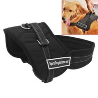 Wholesale Dog Chest Belt Harness - Sport Dog Harness Sets For Medium Large Adjustable Size S M L XL Pet Chest Set Harness Belt Dog Canvas Harness