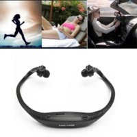 Wholesale Sport Mp3 Player Headsets - New High Quality Fashion Stereo Sport Headset Headphone Earphone MP3 Music Player Micro For SD TF Slot
