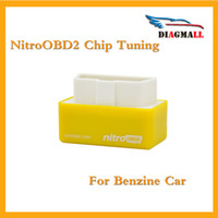 Wholesale Work Tunes - 2016 Nitro OBD2 Chip Tuning Box NitroOBD2 Plug and Drive OBD2 Chip Tuning Works For Benzine Cars