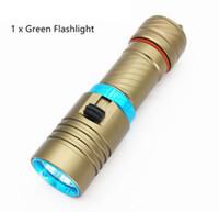 antorcha de buceo led impermeable al por mayor-5000Lm XM-L2 sumergible a prueba de agua bajo el agua 80 metros LED linterna antorcha linterna lámpara de camping Lanterna con oscurecimiento sin escalonamiento